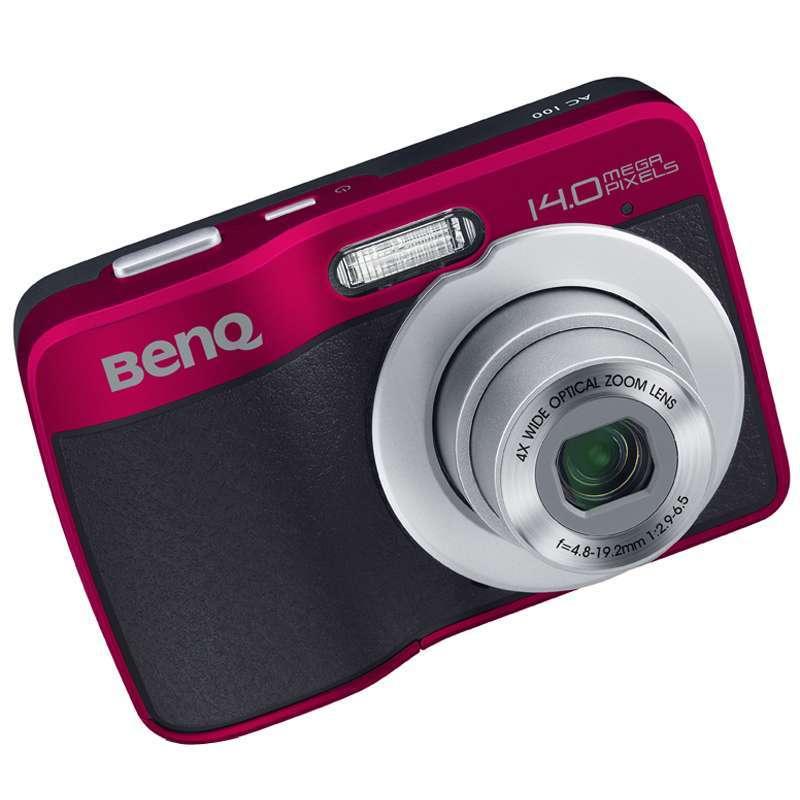 明基ac100(红)数码相机