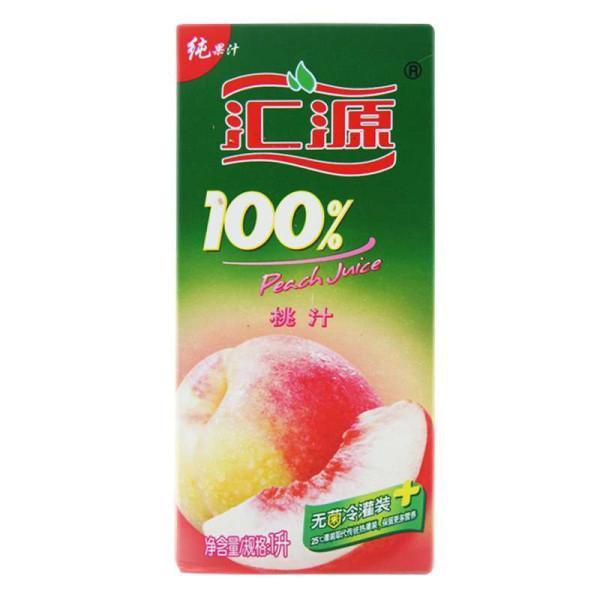 汇源果汁官网_【汇源果汁/果蔬汁】汇源100%桃汁1l【价格 图片 品牌
