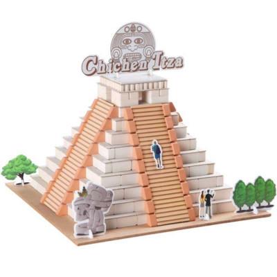 手玩具墨西哥玛雅金字塔l