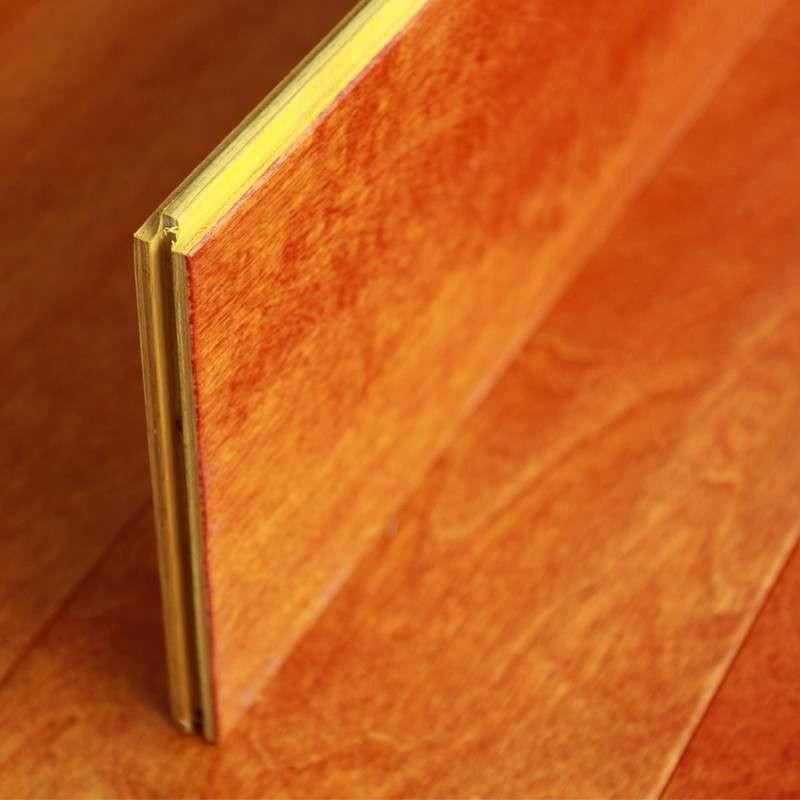 贝尔地板 实木复合地板 15mm 地暖专用 手抓纹 凯旋广场