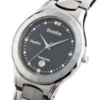 邦顿瑞士品牌手表名表男士时尚钨钢水钻表正品