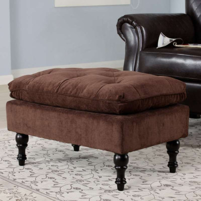 ottoman简约欧式布艺沙发凳