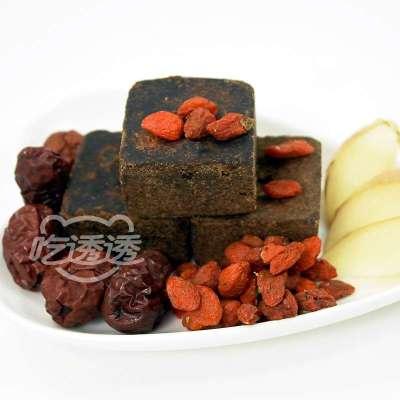 吃透透 黑糖魔方 红枣枸杞姜母黑糖块45g随手包