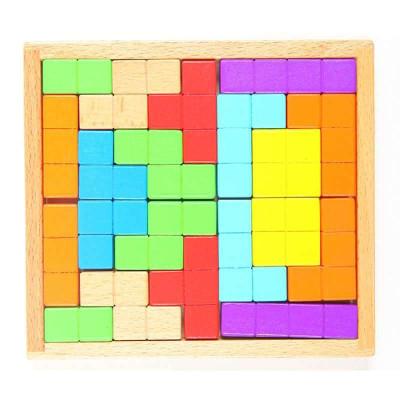积木 迷宫/拼图 磁力棒/磁贴 立体纸模 丹妮奇特 丹妮奇特 俄罗斯方块