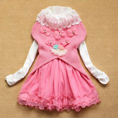 童装女童 儿童连衣裙