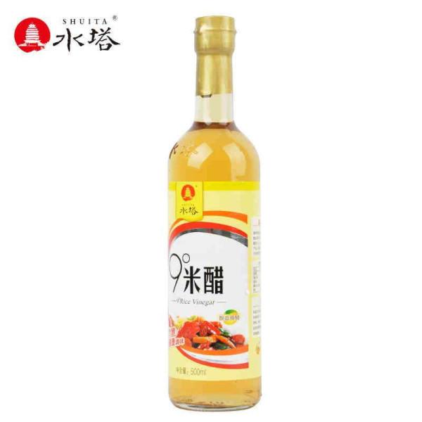 【水塔(shuita)食醋】水塔9度米醋500ml【价格