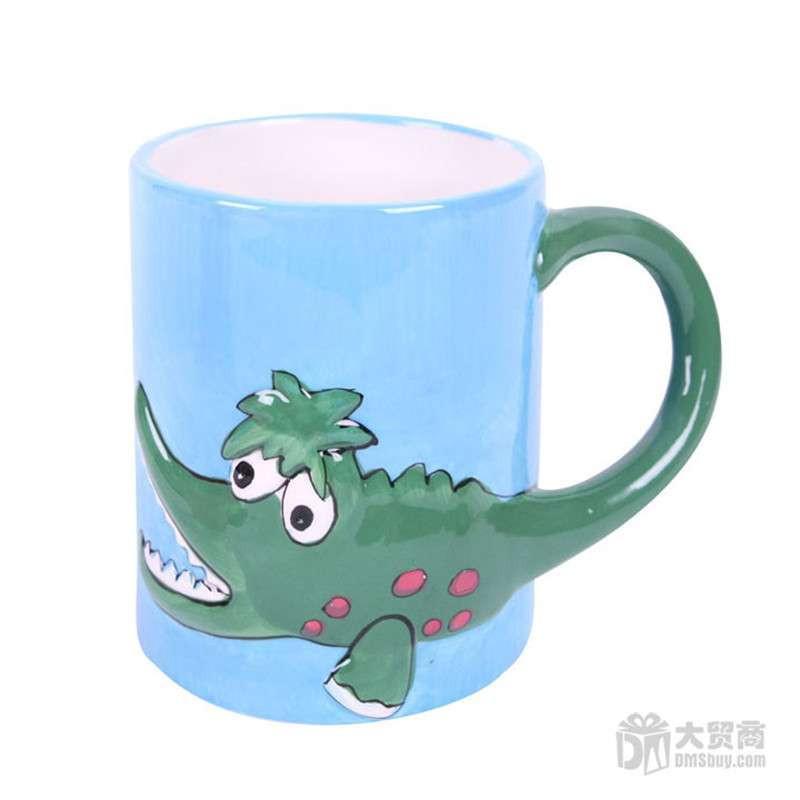 动物图案陶瓷杯