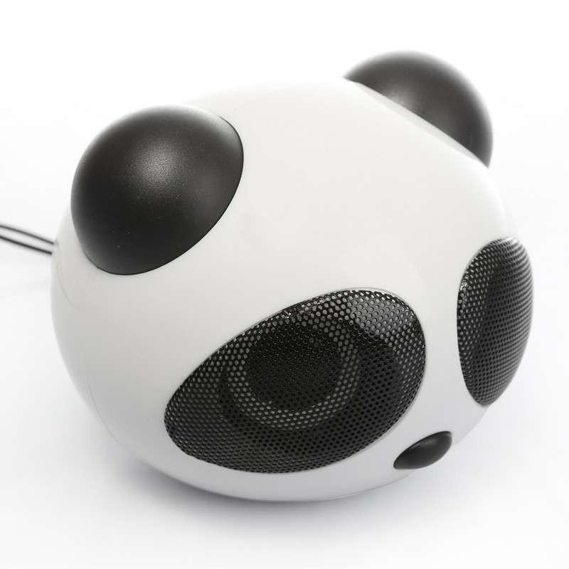 可爱小熊猫音箱电脑音响迷你音箱