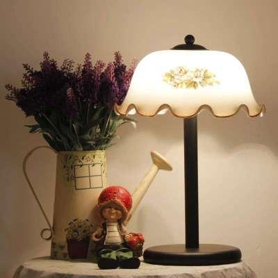 欧式经典书桌上台灯图片