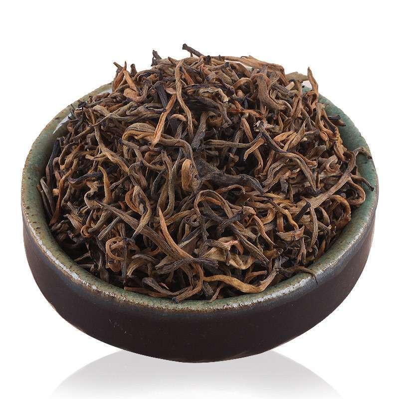 【泥巴哥旗舰店茗茶】滇红金芽特级红茶叶