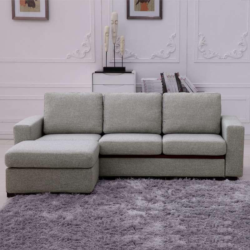 客厅灰色布沙发背景贴纸
