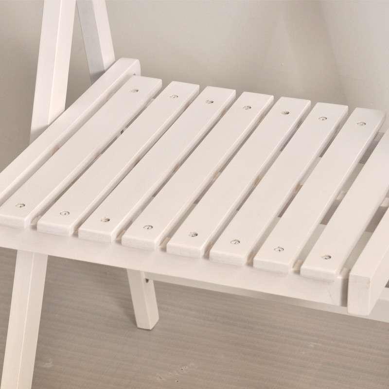 青岛一木家具 实木折叠椅子