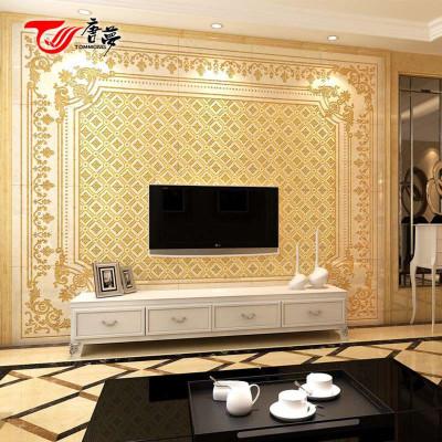 电视背景墙瓷砖精雕