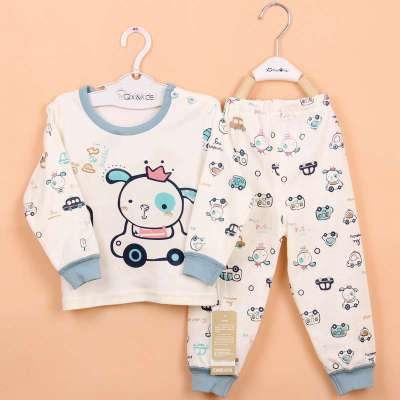 琦多星 春季婴儿内衣套装宝宝衣服儿童衣服女宝宝衣服