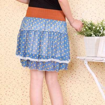 碎花裙 高腰裙短裙 ha160010