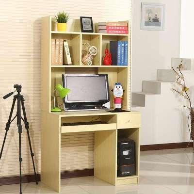 简易电脑台 简易电脑桌 办公桌组合 电脑桌书柜 书桌 0809 桌面120cm