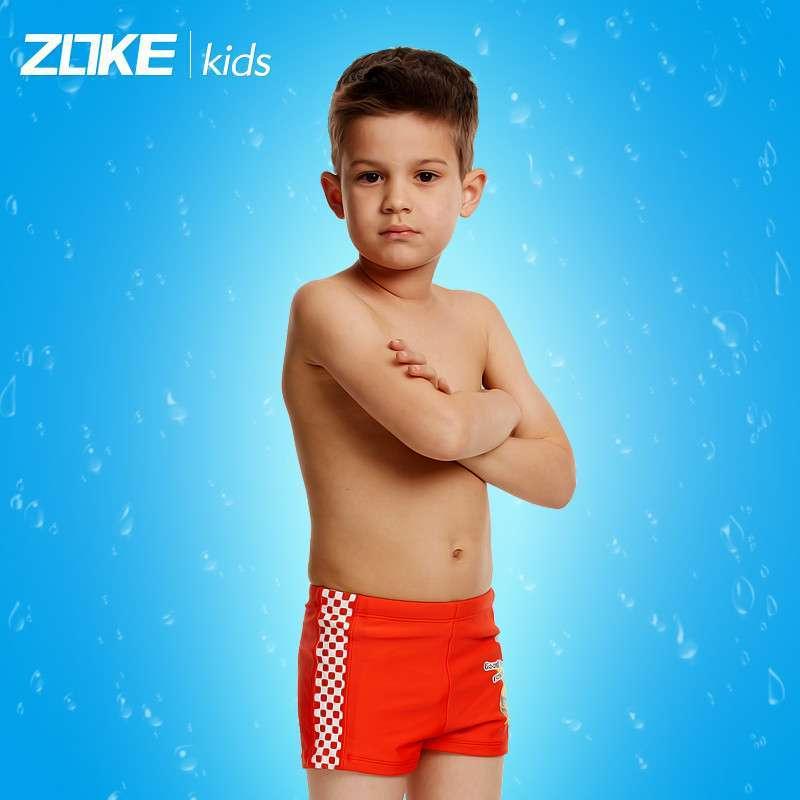 通图案大中童游泳裤男孩图片