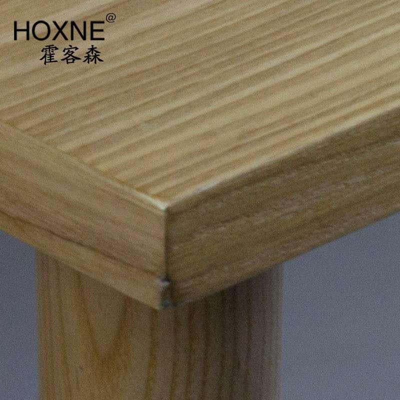 霍客森 实木茶几长方形茶几 简易茶几长条桌子 简易实木桌子餐桌 长19