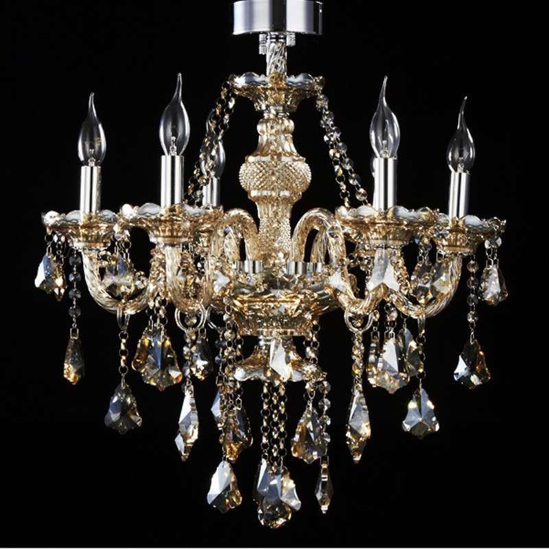 欧式水晶吊灯客厅灯led蜡烛吊灯楼梯复古吊灯餐