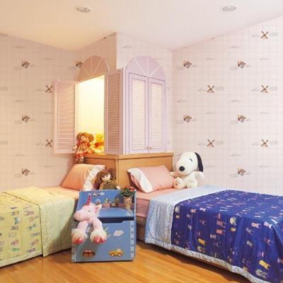 兒童房溫馨臥室