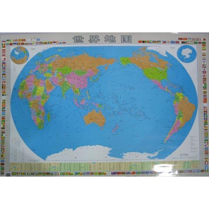 世界地图(穿杆覆膜)