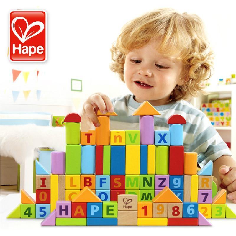 【hape系列】hape 80块益智积木 e8022图片,高清实拍