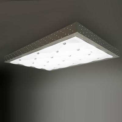 欧普 客厅灯现代简约灯具 led吸顶灯 长方形 房间灯饰巴黎恋人图片