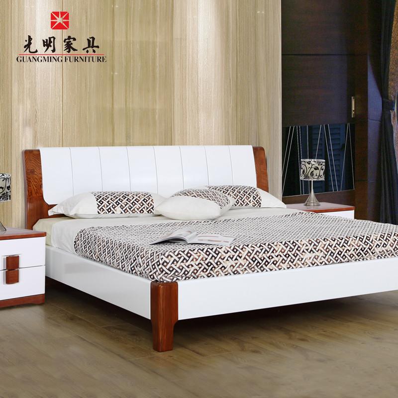全实木床 时尚双人床