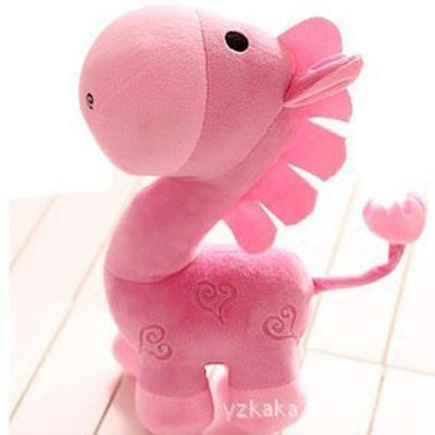 创意马年吉祥物可爱卡通马公仔毛绒玩具布娃娃