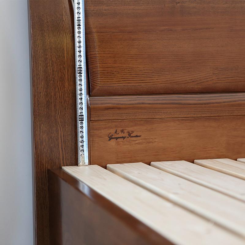8米实木床大床 空体床 箱体床储物床15878 空体