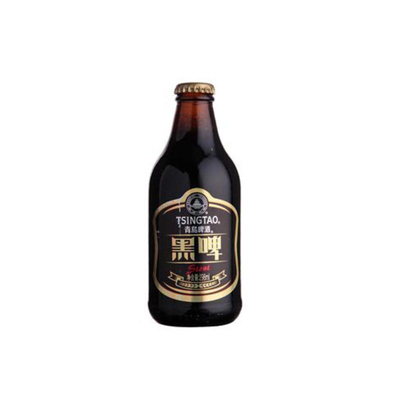 【1919官方旗舰店啤酒】1919酒类直供 青岛黑啤瓶装ml