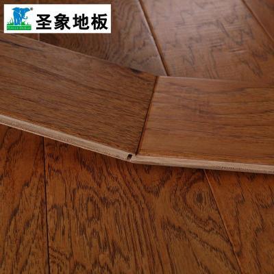 圣象多层实木复合木地板na3218秋之山核桃f4星高环保