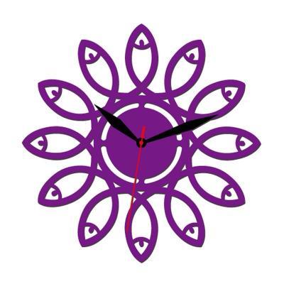 亚克力时钟,可水洗,镂空设计,厚度2-3毫米,颜色及尺寸都可根据家居环