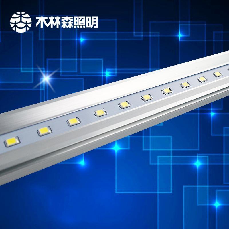 木林森led家装灯具照明t5一体化高亮度客厅超市仓库日光灯管1.2m 冷白图片