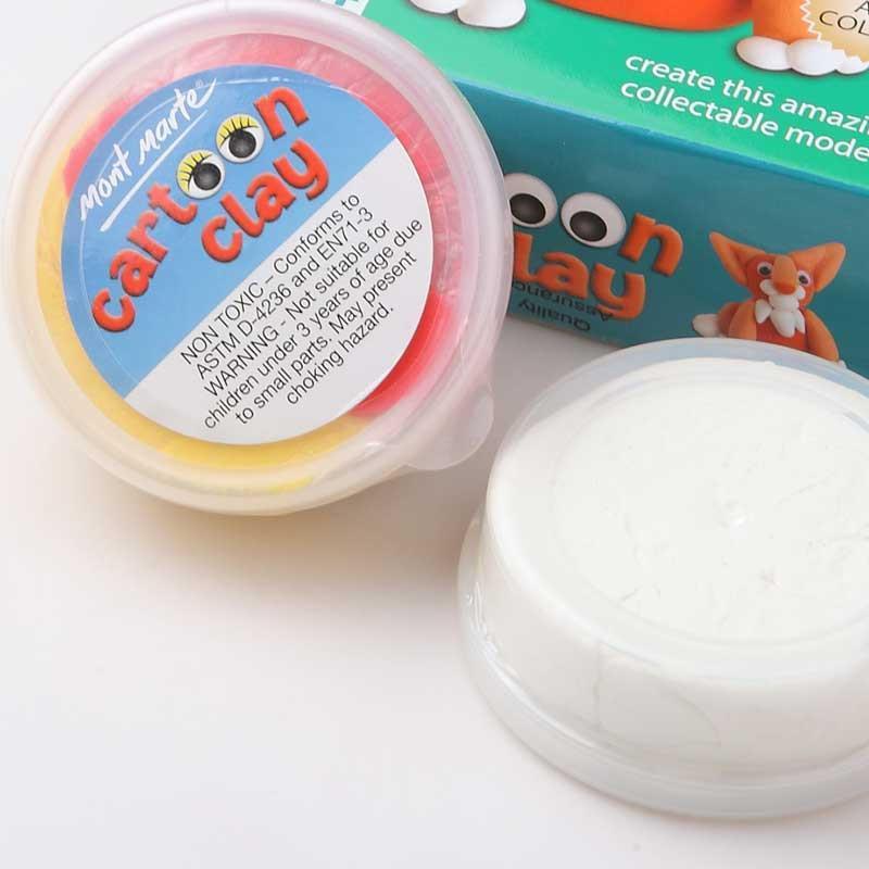 汇鸿外贸包邮 蒙玛特 儿童艺术小动物彩泥 超强泥土 波波橡皮泥 开发