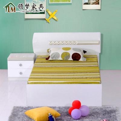 8儿童床可定制 白+实+箱