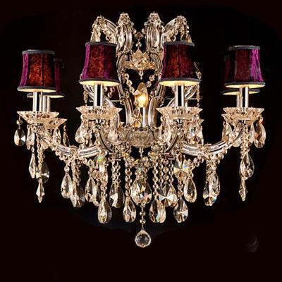 奢华欧式客厅吊灯八头