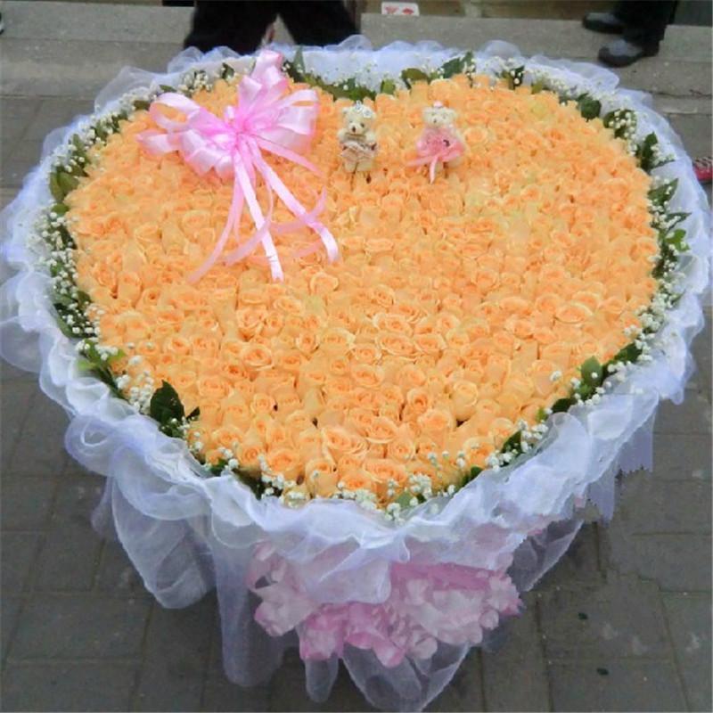 999朵玫瑰花束