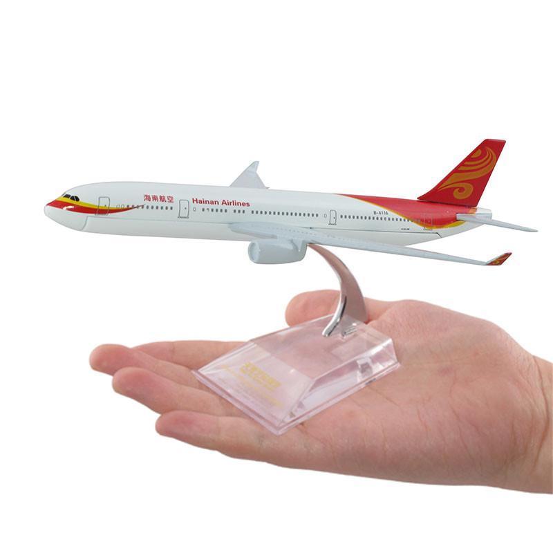 天雅艺品 a330-200 海南航空 1:400 小合金飞机模型 16cm高清实拍图