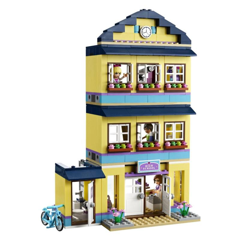 lego 乐高 friends 好朋友系列 女孩系列 41005 心湖城学校 乐高积木