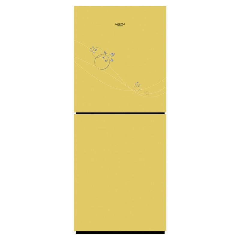 澳柯玛冰箱BCD-207UG,炫彩金