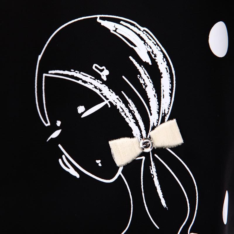 小象包袋 2015秋冬女包卡通可爱萌包女生蝴蝶结手提托特包波点单肩女