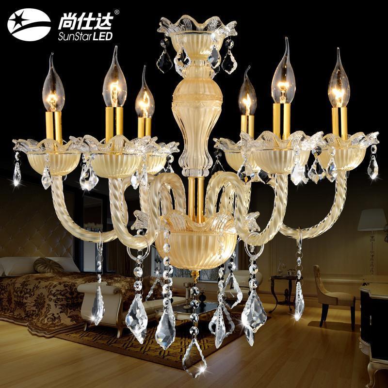 吊灯水晶灯蜡烛灯欧式