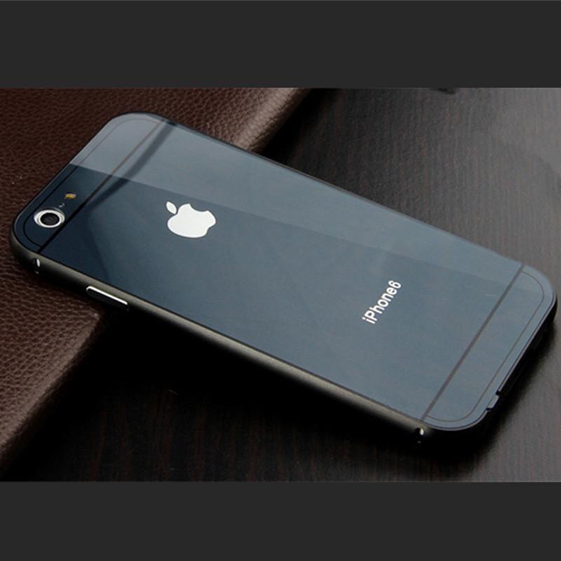 vipin 苹果iphone6/6s金属边框+亚克力后盖 苹果6s新款手机壳 4.