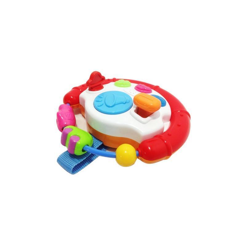 英纷方向盘游戏婴幼儿玩具1-2-3岁益智玩具0705
