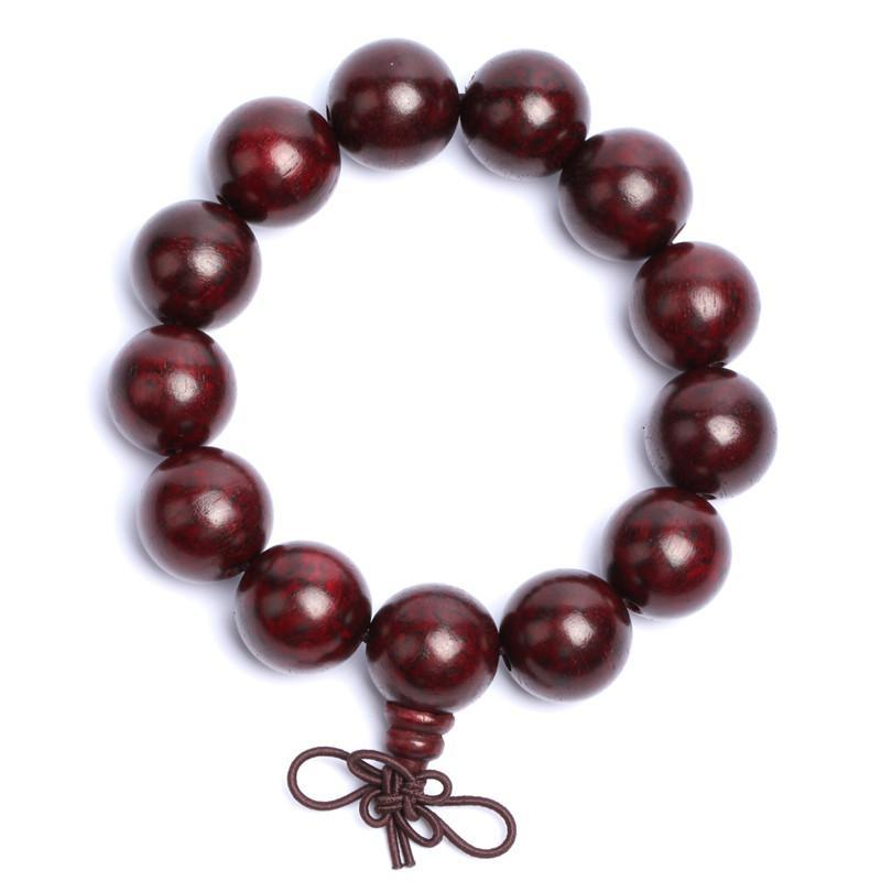 18m印尼酸枝木手串 棕红色