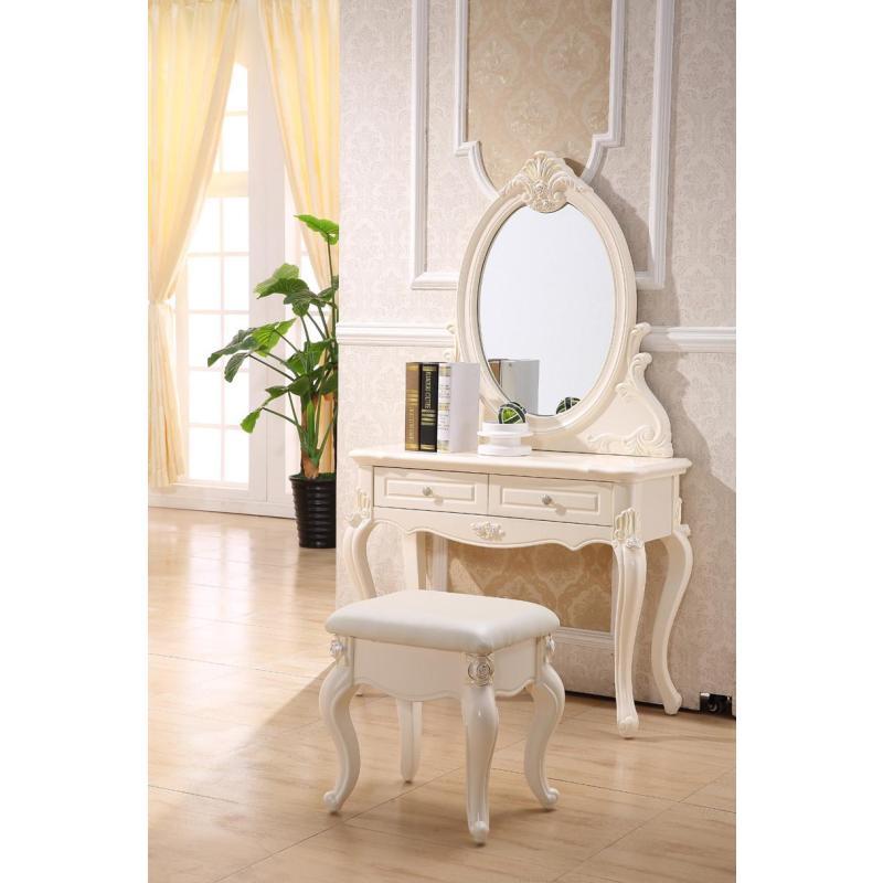 欧式梳妆台+妆凳