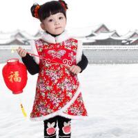 童乐谷2528女儿童旗袍a儿童唐装图纸新年礼高大表现宝宝上图片