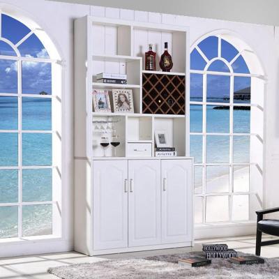 客厅柜餐厅高大酒柜 靠墙现代简约白色家具家用家庭时尚装饰柜门厅图片