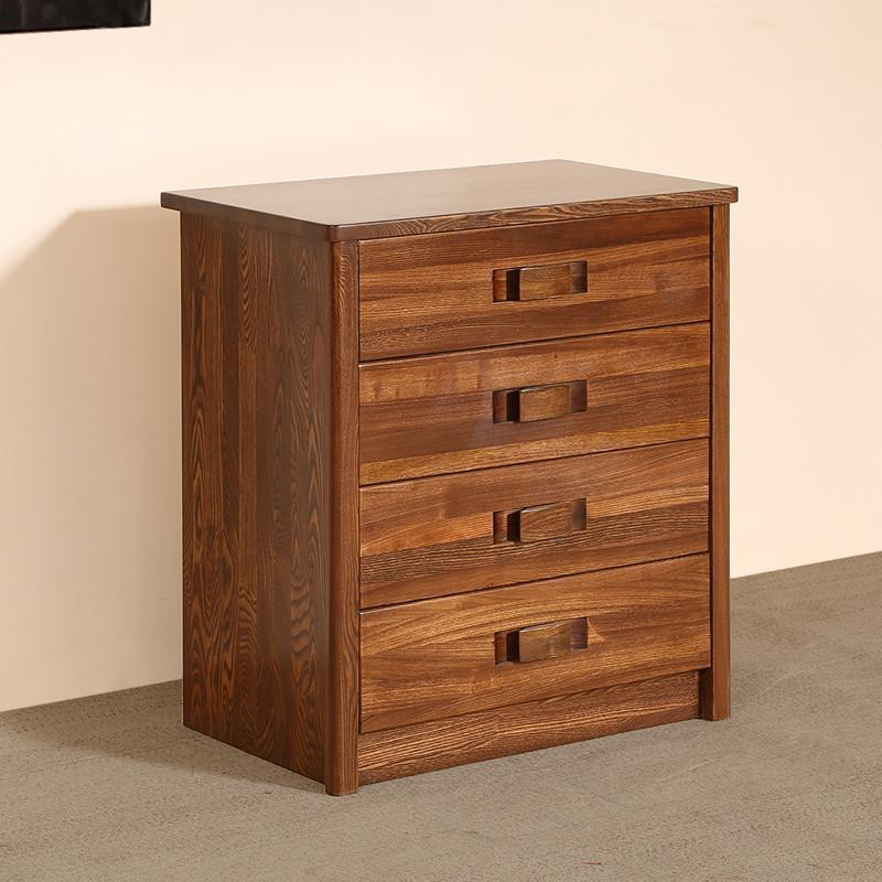 榆木中式客厅斗柜实木家具 现代中式客厅四斗柜老榆木实木斗柜